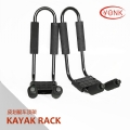 Y02003 Folding Kayak carrier Canoe rack roof carrier kayak stacker holder