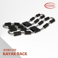 Y02021G Folding Kayak carrier Canoe rack roof carrier kayak stacker holder