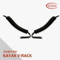 Y02041 Kayak carrier Canoe V-rack roof carrier kayak stacker holder