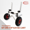 Y02012 Aluminum Sit-On-Top canoe kayak cart beach cart trolley