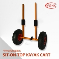 Y02010Y Aluminum Sit-On-Top canoe kayak cart beach cart trolley