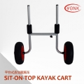 Y02018 Aluminum Sit-On-Top canoe kayak cart beach cart trolley