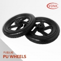 Y05011 12 inch Solid PU beach wheels tire tyre for kayak beach cart/trolley