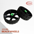 Y05014 High quality 10 inch Kayak cart wheels Rubber beach wheels Tank wheels for kayak carts trolley