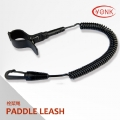Y10001 Surfboard flex coiled paddle leash sup board leash