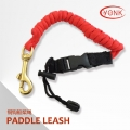 Y10002 Marine coiled paddle leash for canoe kayak fishing