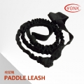 Y10007 Marine coiled paddle leash for canoe kayak fishing