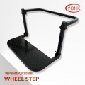 "Y40002 Steel adjustable portable foldable 22"" Car Wheel Step ladder tyre tire step"