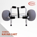 Y02011B Deluxe multifunction folding Aluminum canoe kayak cart beach cart trolley
