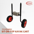 Y02018R  Adjustable Scupper Kayak Cart sit on top kayak cart