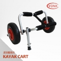 Y02013B Deluxe multifunction folding Aluminum canoe kayak cart beach cart trolley