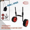 Y02018A Removable kayak trolley adjustable kayak cart for sit on top kayak