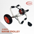 Y02015 Deluxe multifunction folding Aluminum canoe kayak cart beach cart trolley