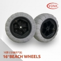 Y05018 16 inch balloon wheel beach wheels with bearing